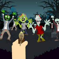 Free online flash games - Asian Zombie Attack game - Games2Rule