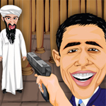 Free online flash games - Osama Vs Obama game - WowEscape