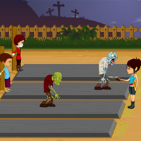 Free online flash games - Rise of the Zombies game - WowEscape