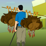 Free online flash games - Turkey Hunting game - WowEscape