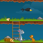 Free online flash games - Mice Food Journey game - WowEscape