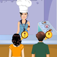 Free online flash games - Angelina Jolie Ice Cream Shop game - WowEscape