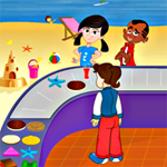 Free online flash games - Replay Beach Stall game - WowEscape
