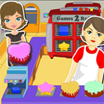 Free online flash games - Cake Baking Shop game - WowEscape
