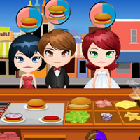 Free online flash games - Chicken Burger Cart game - WowEscape
