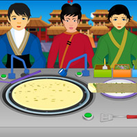 Free online flash games - China Town Dosa game - WowEscape
