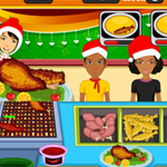 Free online flash games - Christmas Fried Foods game - WowEscape