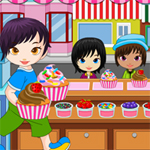 Free online flash games - Cupcake Shop game - WowEscape