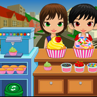 Free online flash games - Cupcake Stop game - WowEscape