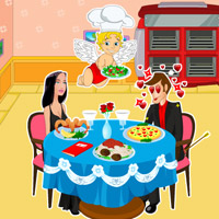 Free online flash games - Cupid Cafe game - Games2Rule