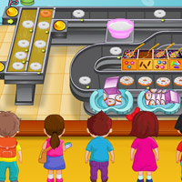 Free online flash games - Doughnuts Bakery game - WowEscape