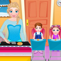 Free online flash games - Elsa Cook game - Games2Rule