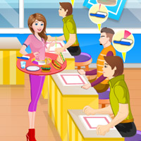 Free online flash games - Fast Food Server game - WowEscape