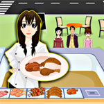 Free online flash games - Re Fresh Roasted Food game - WowEscape