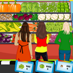 Free online flash games - Fresh Vegetables game - WowEscape