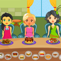 Free online flash games - Girls Food Court game - Games2Rule