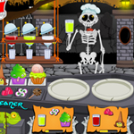 Free online flash games - Graveyard Food Court game - WowEscape