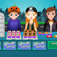 Free online flash games - Halloween Cupcakes game - WowEscape