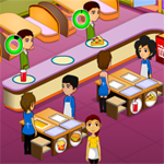 Free online flash games - Holiday Cafe game - WowEscape