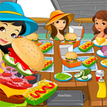 Free online flash games - Hot Burger Hot game - WowEscape