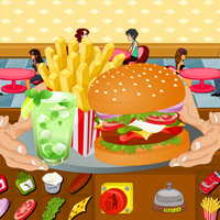 Free online flash games - Hot Burger Shop game - WowEscape
