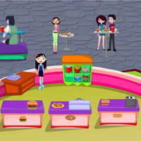 Free online flash games - Hot Busy Restaurant game - WowEscape
