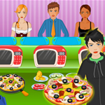 Free online flash games - Hot Pizza Shop-2 game - WowEscape