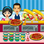 Free online flash games - Hot Pizza Shop game - WowEscape