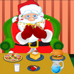 Free online flash games - Hungry Santa game - WowEscape
