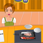Free online flash games - Joi Hei Kitchen-Pop Chicken game - WowEscape