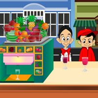 Free online flash games - Kids Juice Corner game - WowEscape