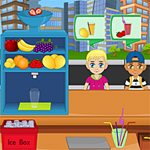 Free online flash games - Kids Juice Shop-2 game - WowEscape
