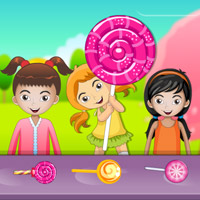 Free online flash games - Kids Lollipop Stall game - WowEscape