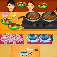Free online flash games - Little Tuna Fish Fry game - WowEscape