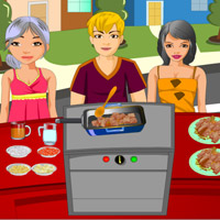 Free online flash games - Masala Chicken Cooking game - WowEscape