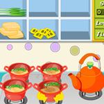 Free online flash games - Noodles Soup game - WowEscape