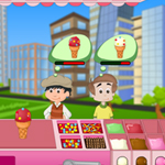 Free online flash games - Papa Ice Cream game - WowEscape
