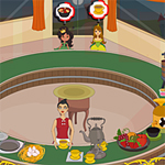 Free online flash games - Princess Dinner Shop game - WowEscape