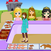 Free online flash games - Princess Roasted Food game - WowEscape