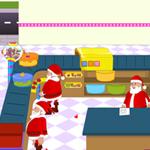 Free online flash games - Santas Christmas Cake Shop game - WowEscape