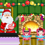 Free online flash games - Santas Cook game - WowEscape