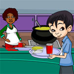 Free online flash games - School Canteen game - WowEscape