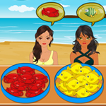 Free online flash games - Seafood Shop game - WowEscape