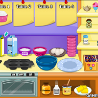 Free online flash games - Serve Yummy Cupcake game - WowEscape