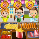 Free online flash games - Time for Chat Foods game - WowEscape