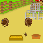 Free online flash games - Turkey Frenzy game - WowEscape