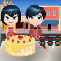 Free online flash games - Wedding Cake Shop game - WowEscape