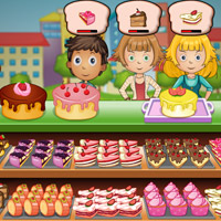 Free online flash games - Yummy Cake Shop game - WowEscape