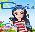 Free online flash games - Doris Dress-up game - WowEscape