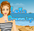 Free online flash games - Leila Dress-up game - WowEscape